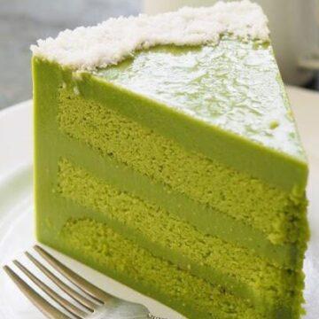 Kaya Pandan Cake